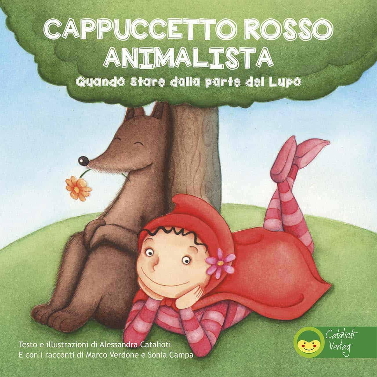 Cappuccetto Rosso Animalista Copertina