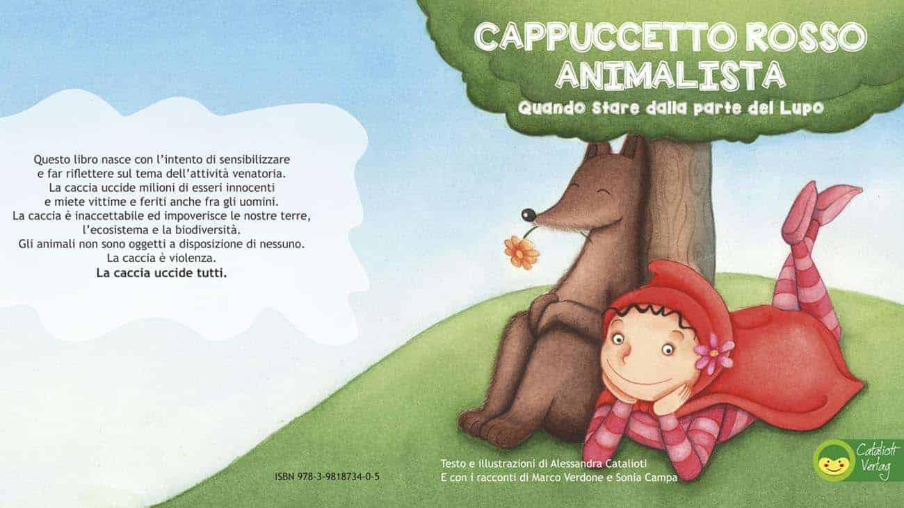 Copertina Cappuccetto Rosso Animalista