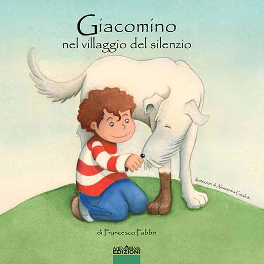 Libro illustrato per bambini Giacomino nel Villaggio del Silenzio