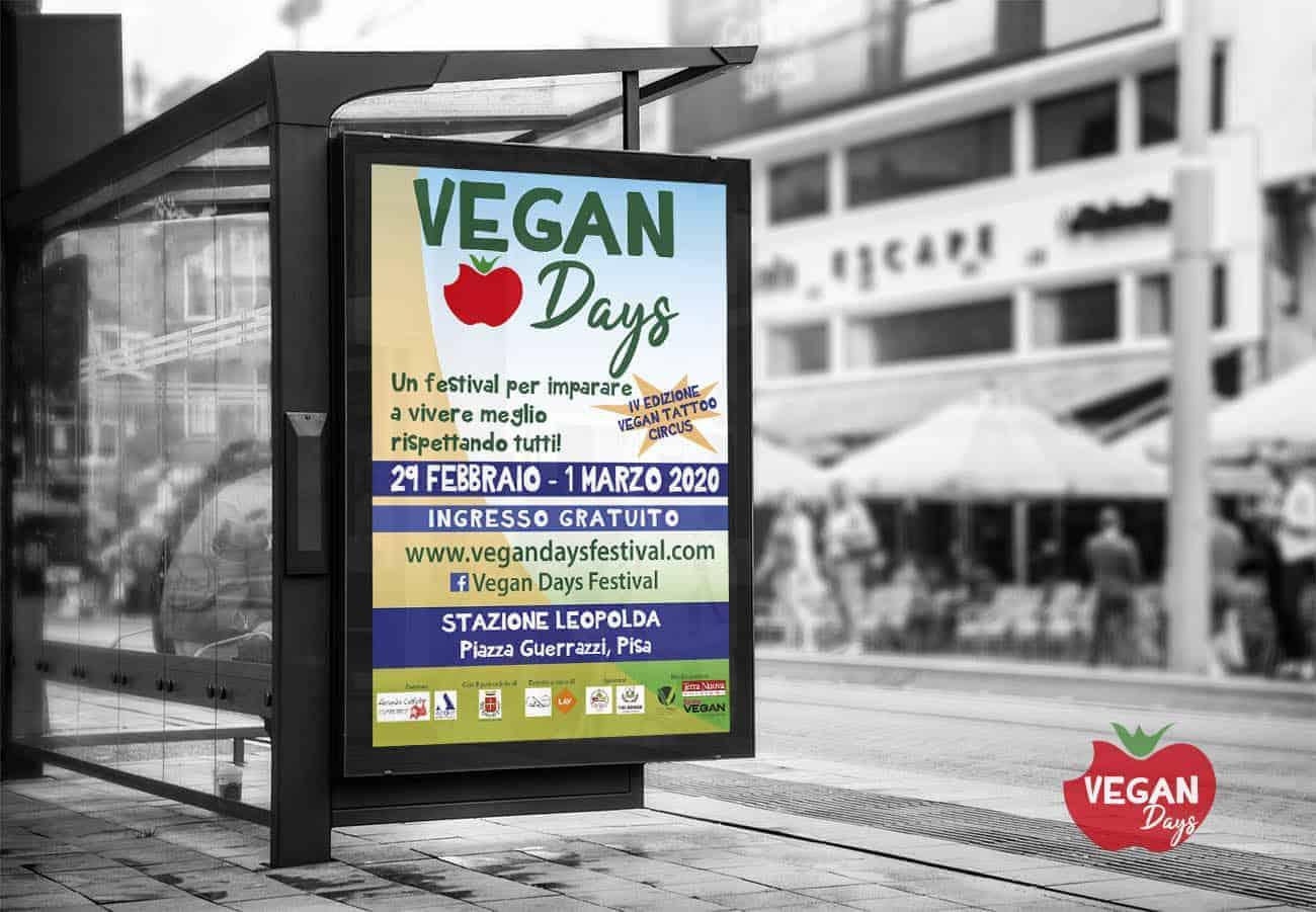 Graphic designing Vegan Fest Outdoor Billboard