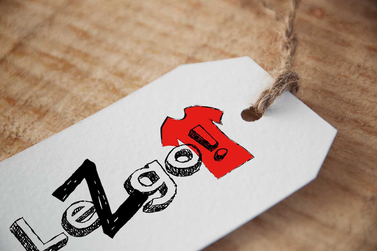 Etichetta con Logo