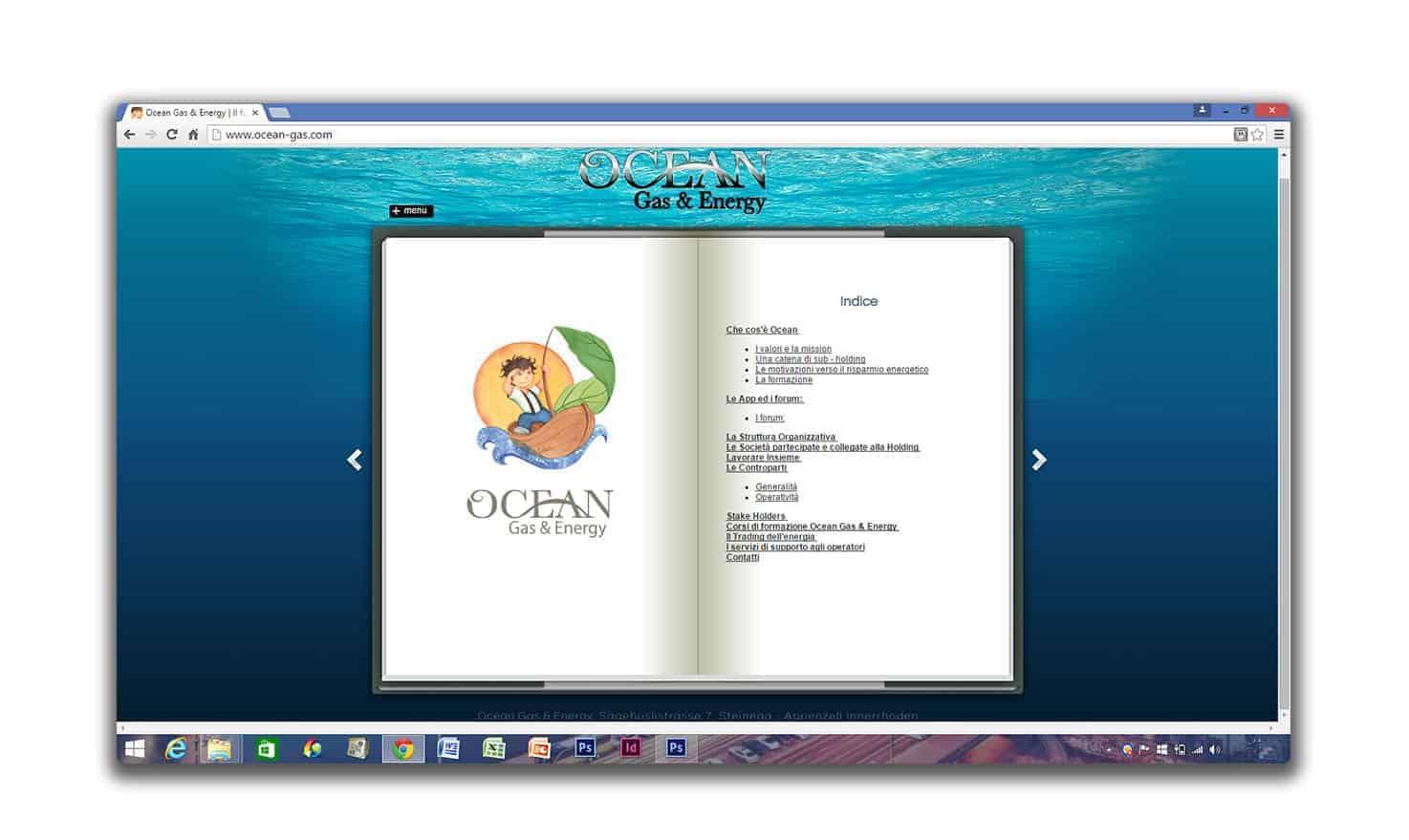 OceanGasSchermataSito