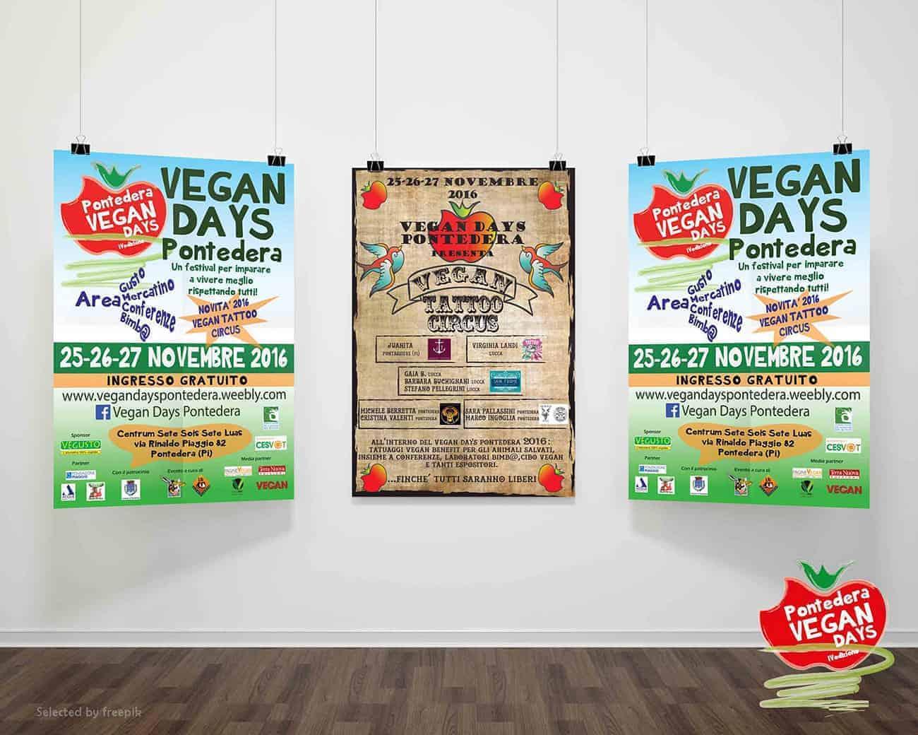 Graphic designing Vegan Fest Indoor Billboard