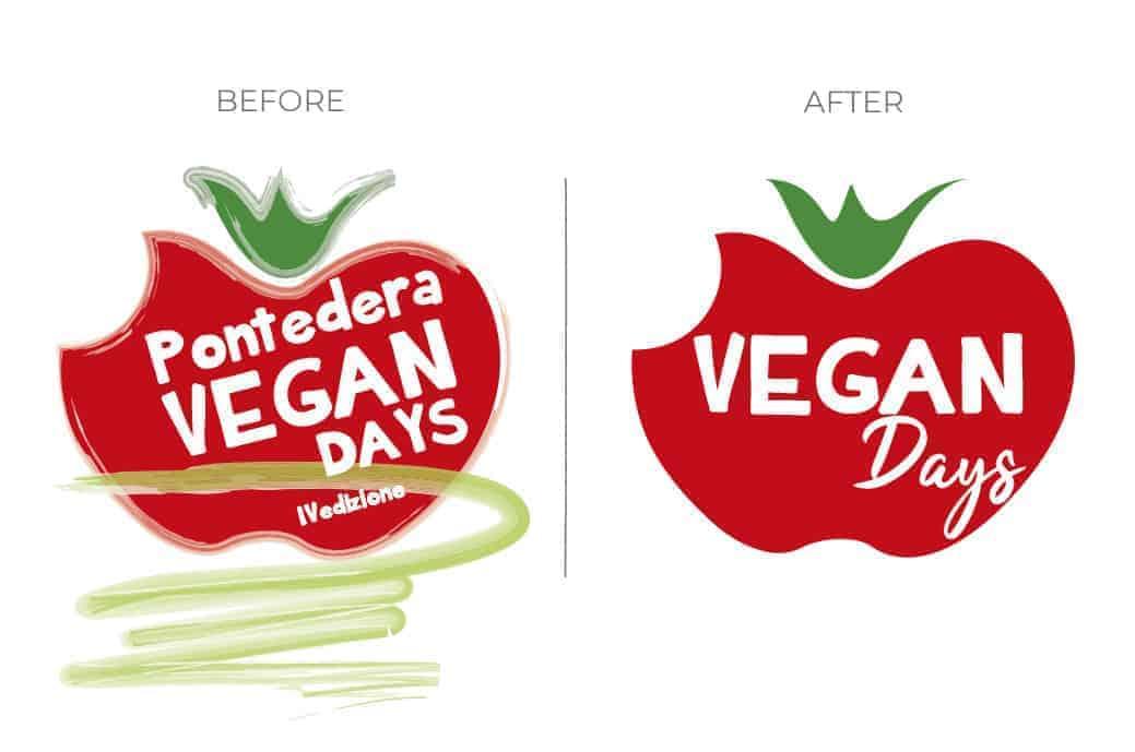 Graphic designing Vegan Fest Logo
