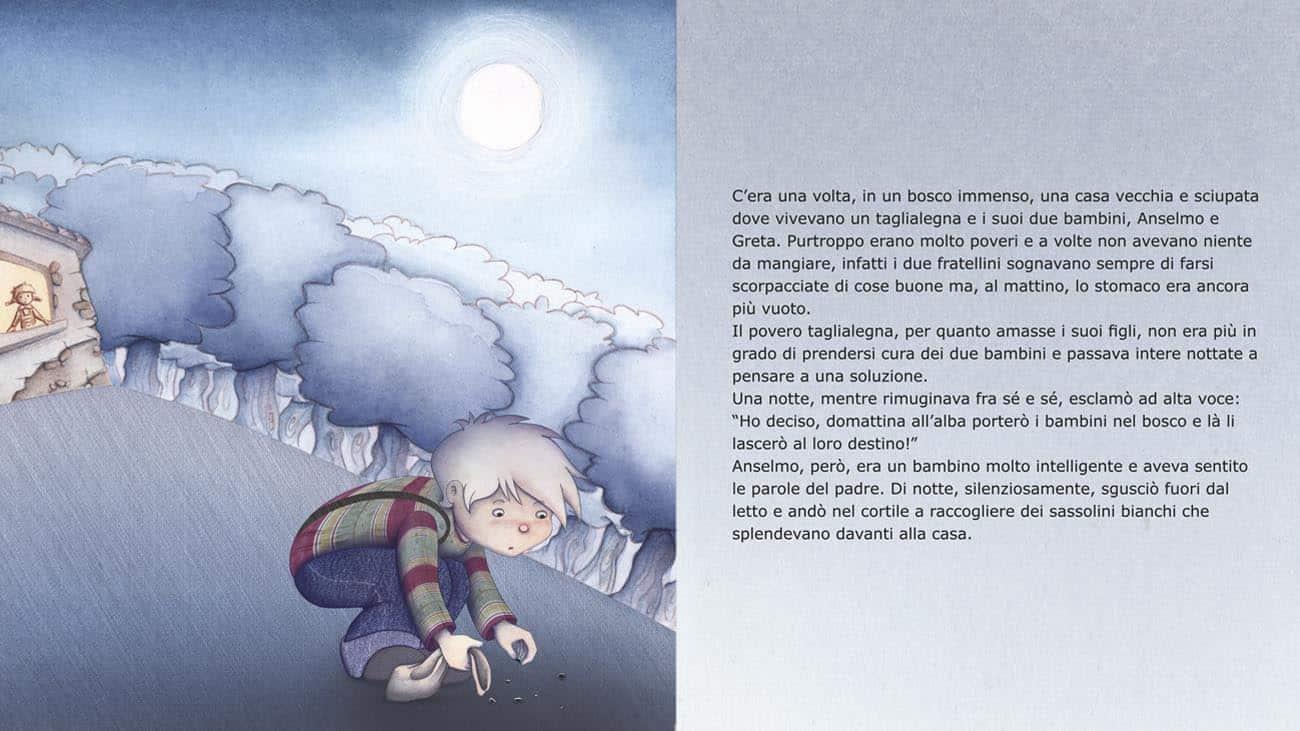 Anselmo e Greta Illustrazione