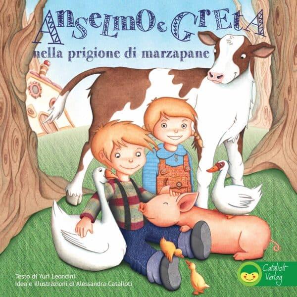 Copertina Anselmo e Greta libro illustrato per bambini