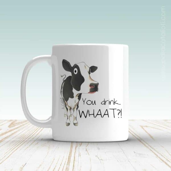 Mug with a Cow picture