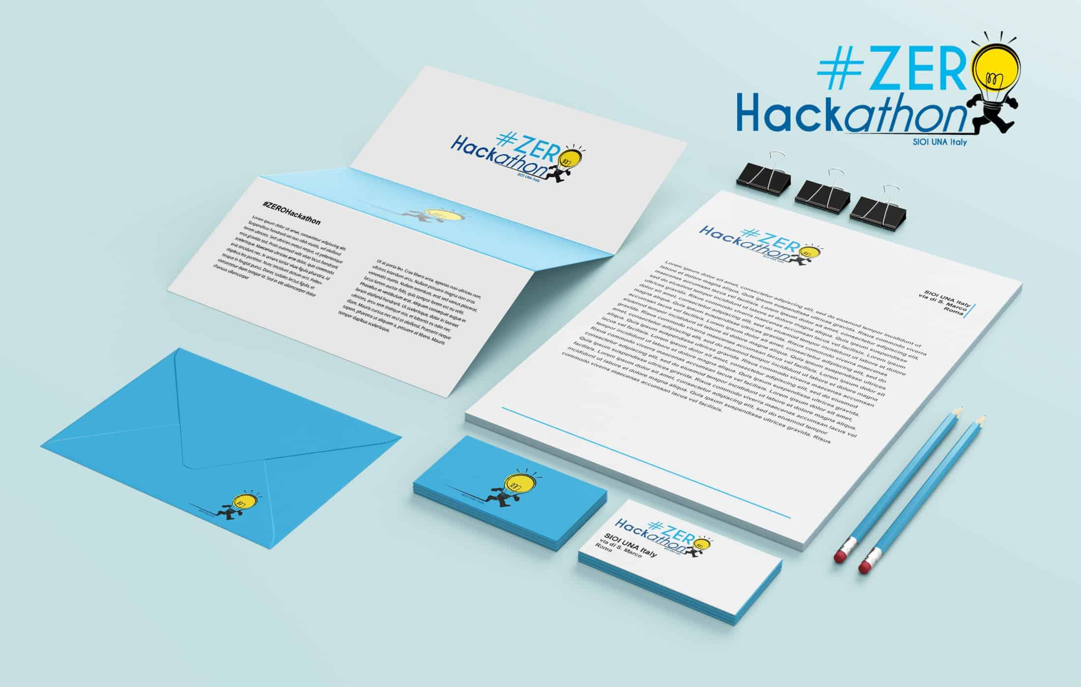 Corporate Identity for the event Zeroackathon