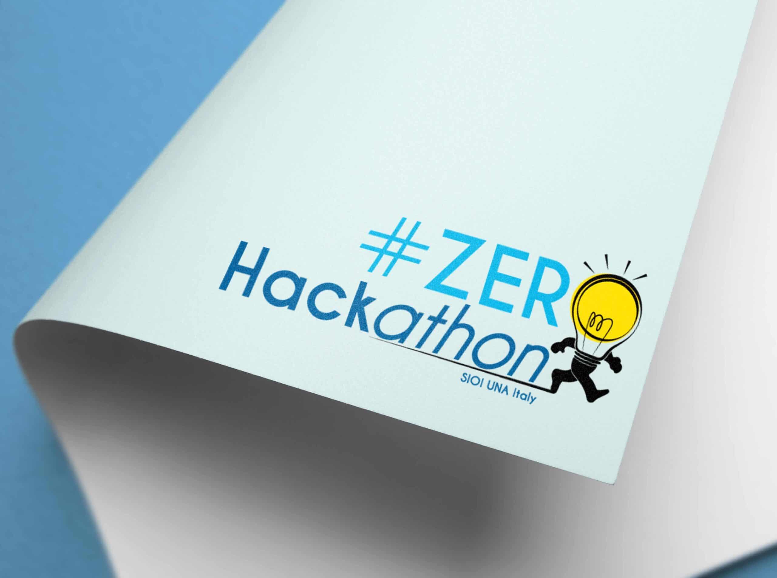 Logo design for the event Zerohackathon